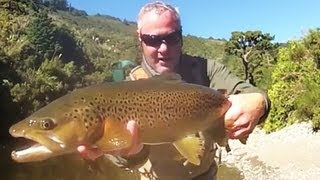 Fly Fishing New Zealand - Late Season Dry Fly Browns