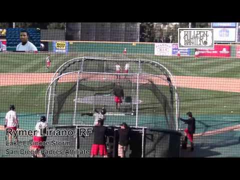 Rymer Liriano Prospect Video, San Diego Padres