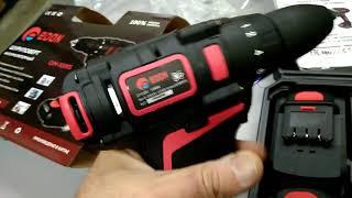 Video screwdriver QM-1009S 21V ko'rsatish Edon