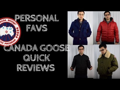Reviewing Canada Goose Jackets for All Occasions--My favs this winter
