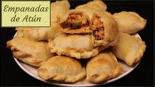 Como Hacer Empanadas de Atún - Receta para Masa de Empanadas y Relleno de Atún
