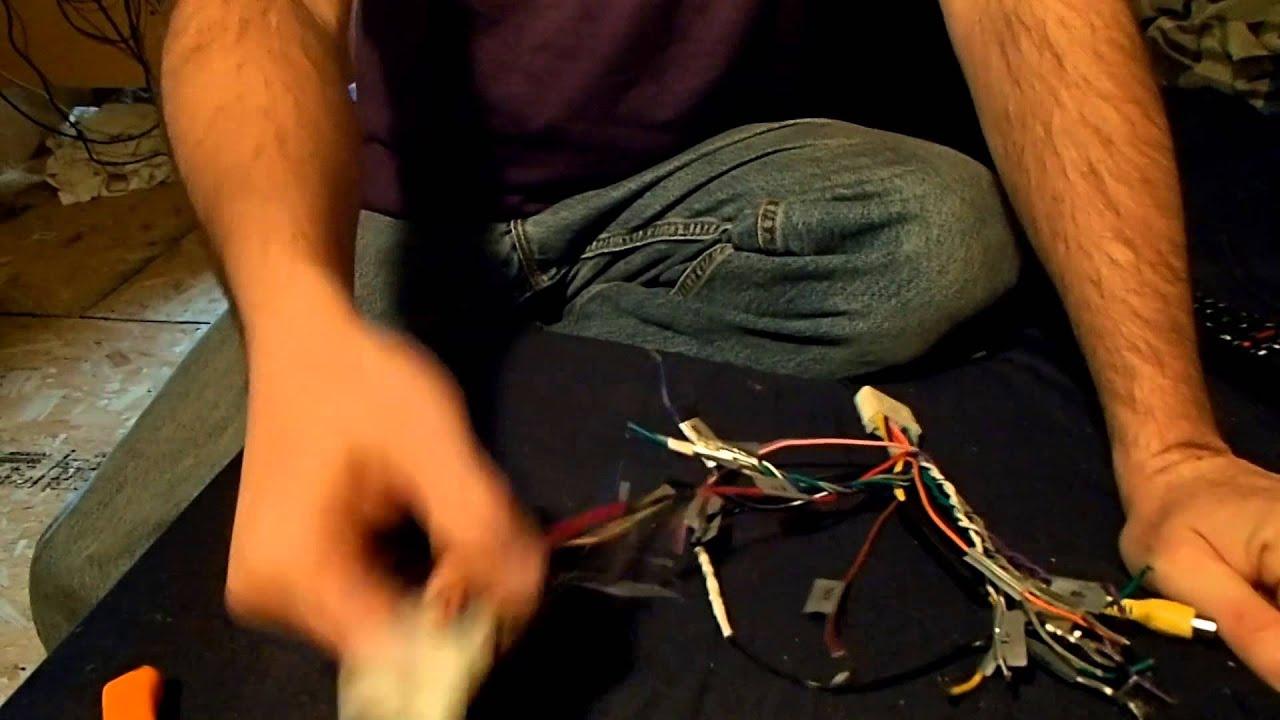 2005 Scion Xb Part 2 Radio Wiring Youtube. 2005 Scion Xb Part 2 Radio Wiring. Scion. 2005 Scion Radio Wiring At Scoala.co