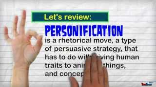 Personification: Part I
