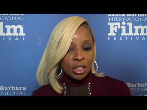 SBIFF 2018 - Virtuosos Award - Mary J. Blige Interview