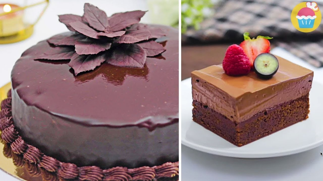Top Chocolate Decorating Ideas by Nyam Nyam | Cake Decorating tutorials