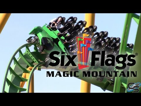 Six Flags Magic Mountain October 2017 Fright Fest