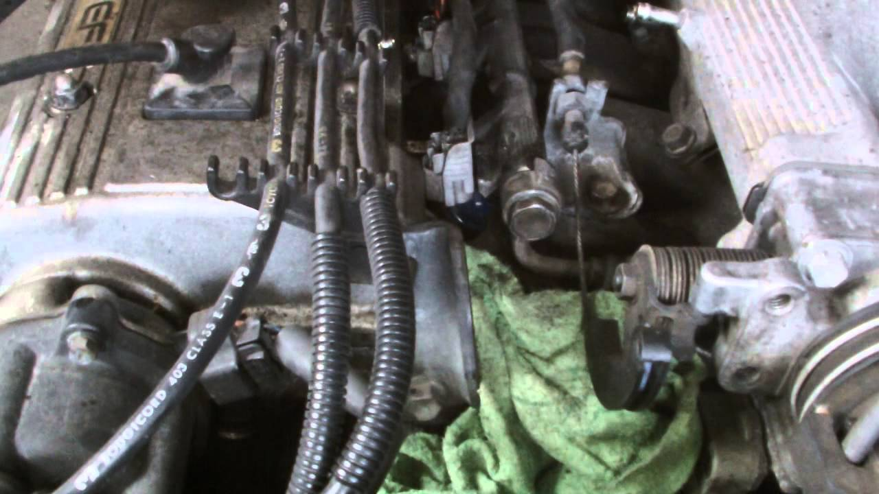 Toyota Engine Repair2 Replacing A Faulty Fuel Injector Youtube Nadia Wiring Diagram