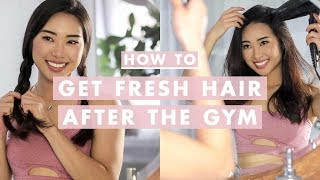 5 Ways To Freshen Up Your Hair After a Workout Without Washing