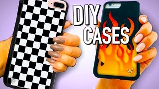 DIY iPhone cases and Popsockets for your phone!