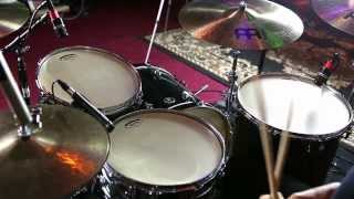 Demo of NEW Aquarian Modern and Deep Vintage II Drum Heads (Kent Aberle)
