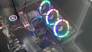Desk PC Building Log, Part 4 - Cable management & fake bottom (Project://Aaetpio/Refining)
