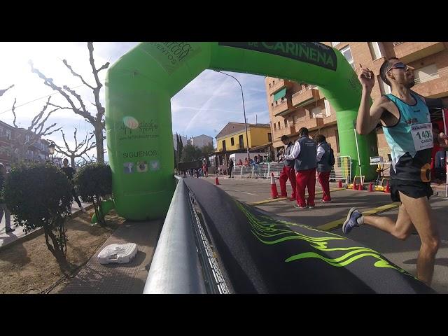 Entrada meta 5K 10K Cariñena 2019-2
