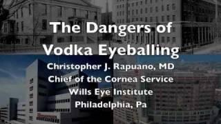 The Dangers of Vodka Eyeballing