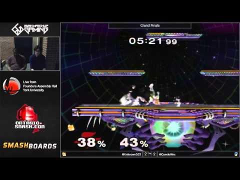 EMG Weon-X (Marth, Fox)  vs Ryan Ford (Fox, Mario) - Smash@York 7 - Melee Singles Grand Finals
