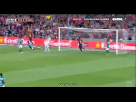 FC Barcelona 6 v/s 0 Club León - Camp Nou - Joan Gamper