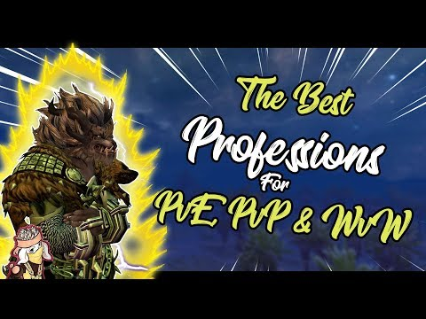 Guild Wars 2 - The Best Professions (Classes) For Each Gamemode (PvE, PvP & WvW) | 2019