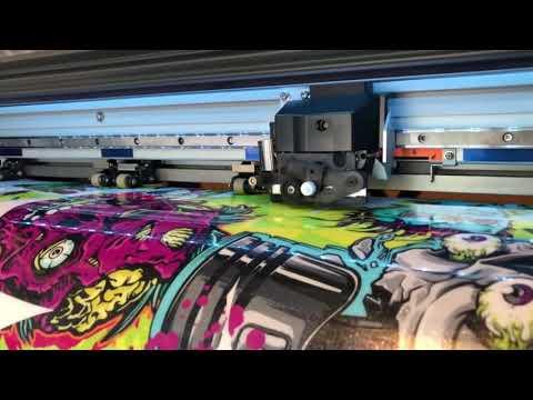 Metallic Candy Flake RC ATV Dirt Bike Wraps And Graphics
