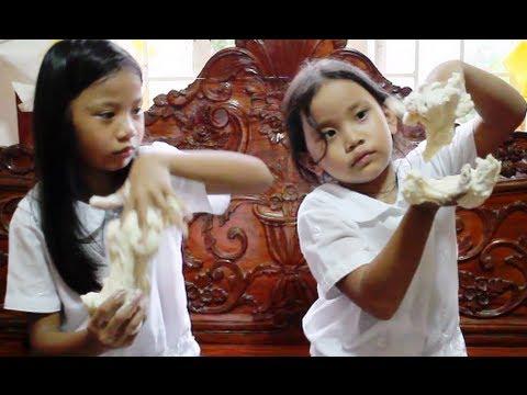 Play Dough Homemade Fun - No Cooking - How To Make Play Dough