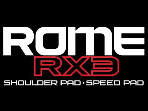 MaverikRome RX3 Shoulder Pad + Speed Pad   Lax Com Product Videos