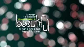 "Christina Aguilera ""BEAUTIFUL"" Nintendo Hyper 8-Bit by Daryl Banner"