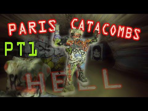 Paris Catacombs PT1 - INTO HELL! - 4K 3hr URBEX