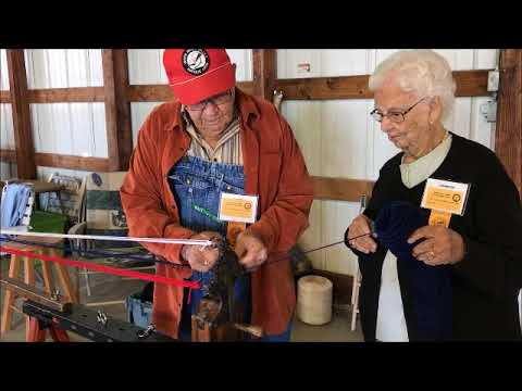 Antique Show 2017 Rope Making
