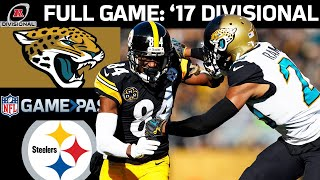 2017 AFC Divisional Round FULL Game: Jacksonville Jaguars vs. Pittsburgh Steelers