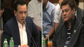 Trillanes, Paolo Duterte face off at Senate probe (part 1)