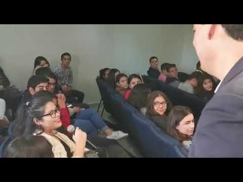 DE VISITA EN LA UNIVERSIDAD CUAUHTÉMOC