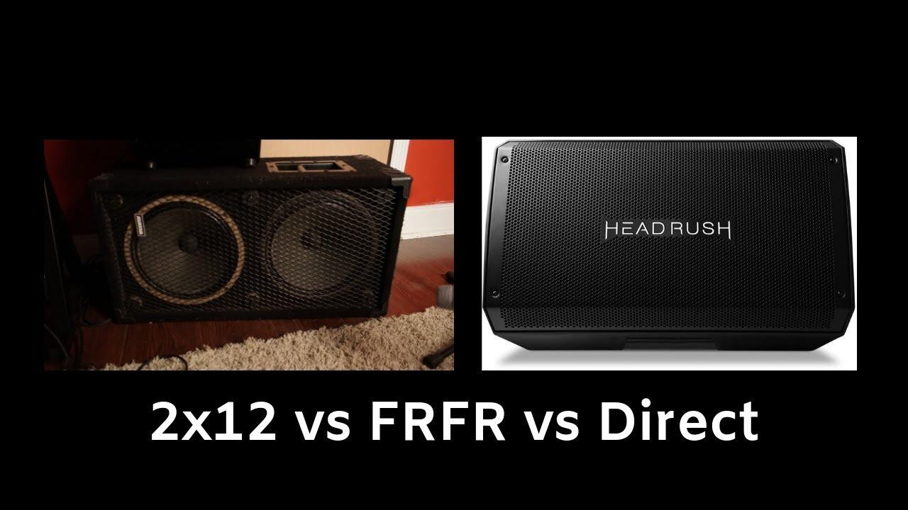 19364b5ea45 2x12 Cab vs FRFR vs Direct   Anatomy of Tone - YouTube