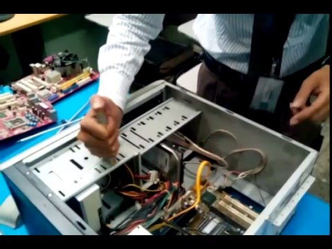 CompTIA A+ Core Assembling   Making a new PC Part 1 By Sharif Ahsan (In Bangla)
