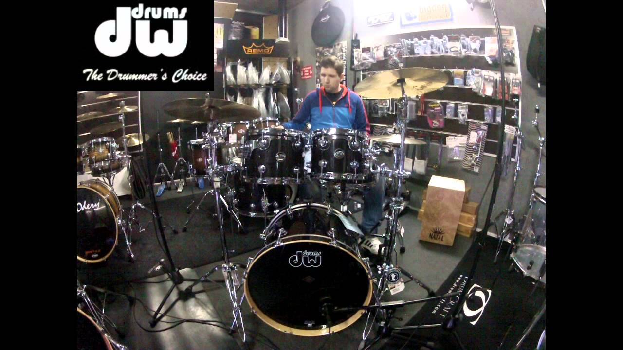 dw performance ebony stain 20 groove it up drum shop. Black Bedroom Furniture Sets. Home Design Ideas