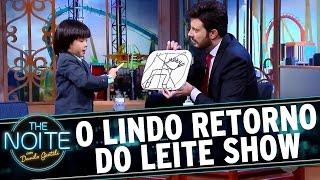The Noite (14/09/16) - LEITE SHOW ESTÁ DE VOLTA!