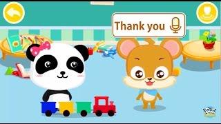 little panda teach you THE MAGIC WORDS,say hello,sorry,bye BabyBus Kids Games