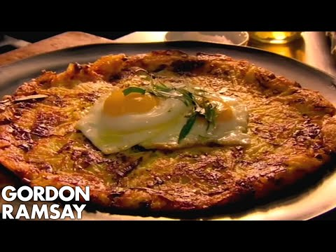 Leek & Gruyère Rösti with Fried Eggs | Gordon Ramsay