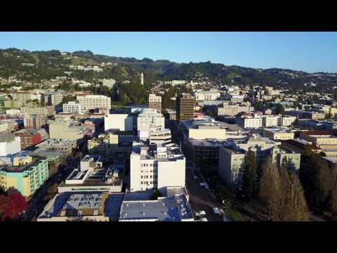 DJI Mavic Test - Flight to Downtown Berkeley
