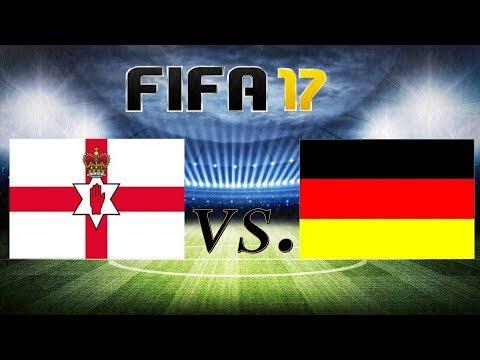 NORDIRLAND VS. DEUTSCHLAND [WM-QUALIFIKATION] 5.10.2017 |FIFA 17|