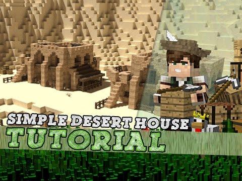 Minecraft Tutorial: Small Arabian Desert House!