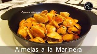 ALMEJAS A LA MARINERA receta gallega, para chuparse los dedos