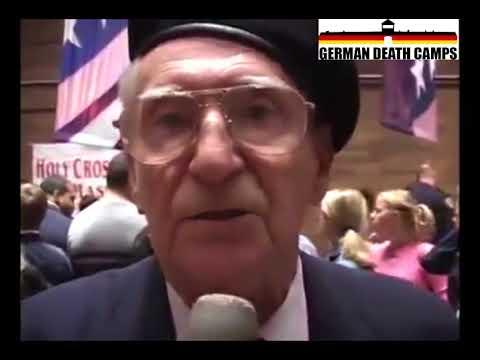 Polish Auschwitz concentration camp survivor tells truth abouth Jews (subtitles)