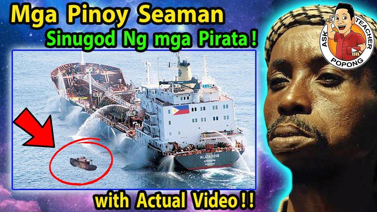 🔴  BARKO  ng Mga Pinoy  SEAMAN , Nilusob  Ng  Mga  PiRATA ! with Actual Video !
