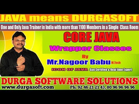 "Core Java || ""Wrapper Classes""​ 
