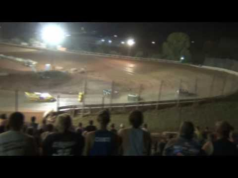 "I-77 Raceway Park Steel Block Late Model $4,000 To Win ""Hillbilly 50"" 8-31-2013"
