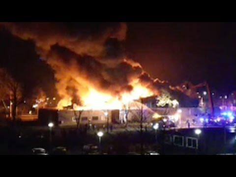 Salaheddine bezoekt Moskee in brand in Culemborg!