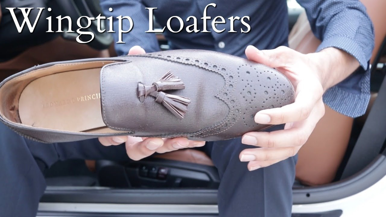 03dfc16b38 Wingtip Loafers
