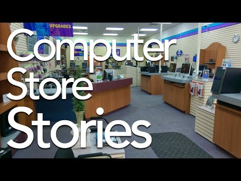 Late 90s Computer Store Stories  TDNC Podcast #67