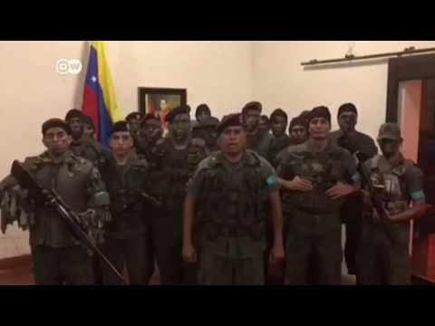 """Militares se declaran """"en rebeldía"""" contra el Gobierno venezolano"""