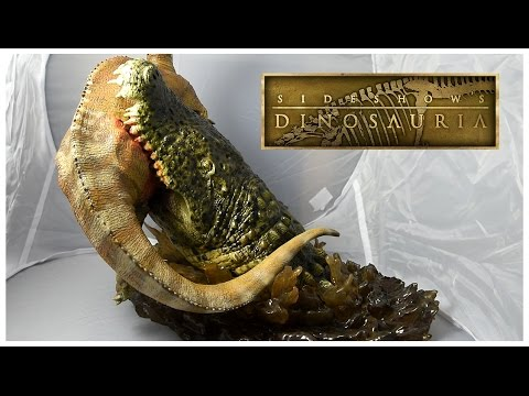 Sideshow Collectibles Dinosauria Unboxing ||  DEINOSUCHUS V PARASAUROLOPHUS