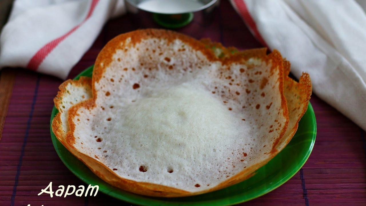 aapam recipe without yeast jeyashris kitchen - Jeyashris Kitchen
