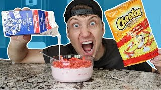 WEIRD FOOD COMBINATIONS PEOPLE LOVE TASTE TEST!! (EATING GROSS FOOD)
